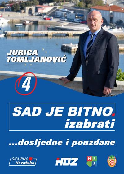 JURICA  OD  SENJA  Ovaj  HDZ-ov kandidat  mirno  čeka  izbore