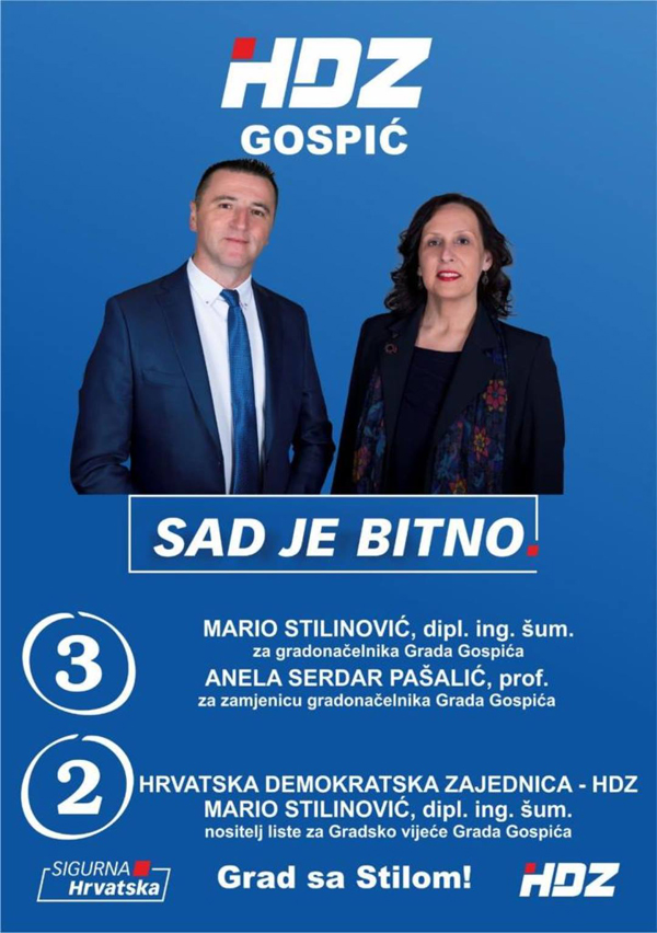 Mario Stilinović,  kandidat  za  gradonačelnika Gospića  za  Jutarnji  list : ljudi  su  nas  prepoznali  kao  novu  mladu  snagu,  hvala  im !