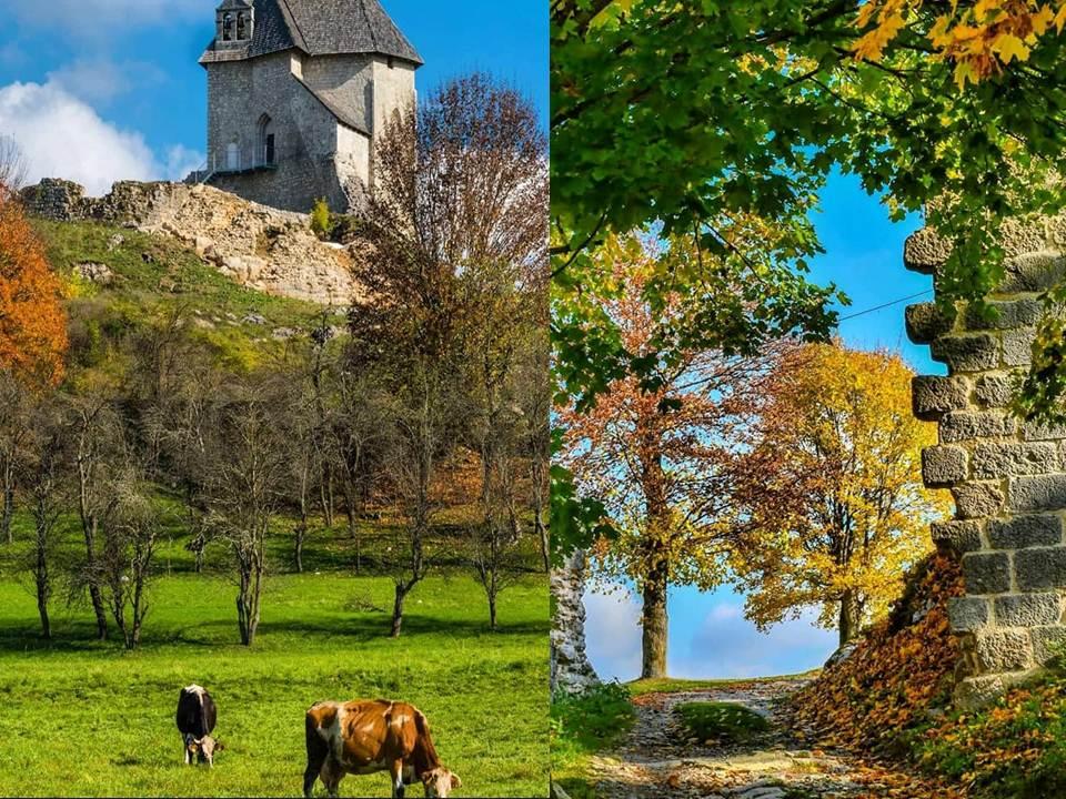 Lijepa  jesen u starom  gradu  Sokolcu  u  Brinju
